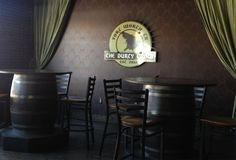 The Durty Crow is a great place to unwind after a rough day. Located in the new West 7th development in Fort Worth.