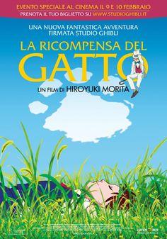 La ricompensa del gatto, il film d'animazione delo Studio Ghibli, evento speciale al cinema il 9 e 10 febbraio.