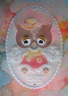 Designed using Linda Williams Groovi Owl Templates