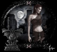 Gothic glitter gifs