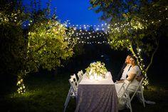 outdoor wedding in garden Outdoor Furniture, Outdoor Decor, Table Decorations, Garden, Wedding, Home Decor, Valentines Day Weddings, Garten, Decoration Home