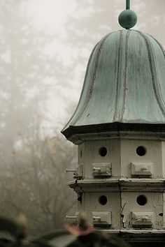 *Love the verdigris patina on this bird house (by shaletann)