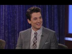 TV BREAKING NEWS Miles Teller on Jimmy Kimmel Live PART 1 - http://tvnews.me/miles-teller-on-jimmy-kimmel-live-part-1/