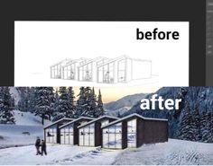 Photoshop Architectural Visualization Tutorial