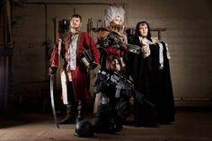deviantART: Warhammer 40 000 Cosplay: Inquisition Team by *alberti