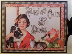 Raining Cats and Dogs Album Graphic 45 - YouTube; My Creative Spirit---she has an online workshop available for this mini.