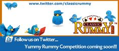 Classic Rummy New Competition coming soon on twitter. All you need to do is just follow classic rummy at http://blog.classicrummy.com/online-rummy/new-words-for-this-week-tweet-your-way-to-win-cash-4/ #rummyonline, #Indianrummy, #rummygames, #rummyfree