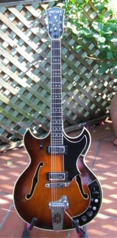 Graham Forsaith's Hofner 4578 VTZ Guitar