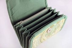 Another Variation of Napkitten's Accordion Wallet - PURSES, BAGS, WALLETS
