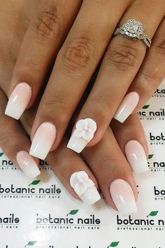 Cute Nail Design Ideas For Stylish Brides ❤ See more: http://www.weddingforward.com/nail-design/ #weddings