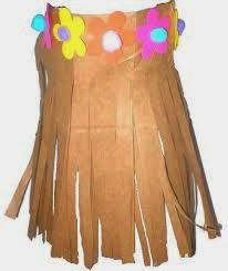 Crafts: Paper Bag Hula Skirt