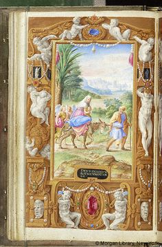 Farnese Hours, M.69, fol. 42v - Images from Medieval and Renaissance Manuscripts - The Morgan Library & Museum