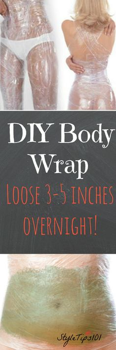 DIY Masque : Description Can't believe how well this actually worked! Was bored one night and decided to do it…totally worth it! Was down 4 inches overnight, and another 3 inches the next night. Where has this been all my life? Cellulite, Homemade Body Wraps, Home Body Wraps, Diy Body Wrap, Weight Loss Wraps, Diy Masque, Belly Fat Burner, Belly Fat Workout, Spot Treatment