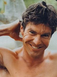 Dennis Quaid - love his rugged looks and the big smile of his.