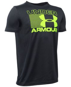 Under Armour presents vibrant sporty style for your boy with this fun…