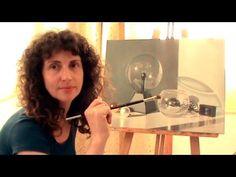 Cómo pintar cristal con óleo - Tutoriales de Totenart