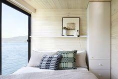 Bedroom   Lake Eildon Houseboat by Pipkorn & Kilpatrick   est living