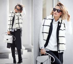 black+and+white+outfit+for+fall