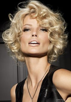 2012 Short Curly Hair Trend