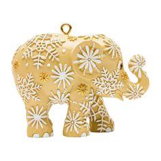 ELEPHANT PARADE - Ornament - Snowfall ivory 5cm