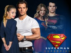 Image result for henry cavill on supergirl