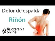 Tratamiento para el dolor lumbar o lumbalgia y ciática provocado por una alteración de riñón - YouTube
