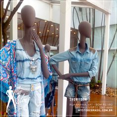 Equus Moda Assinada com os manequins da My Store Brasil, ficou ainda melhor! Sucesso!