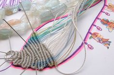 Micro-macrame | smitten by a knot