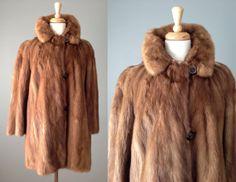 Vintage 60s Mink Coat by Woolf Brothers // Medium