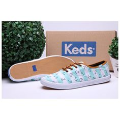 d4c5e708eee97 Keds Shoes Womens Champion Anchors White Sky Blue