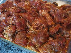 Country Style Pork Ribs in Italian Sauce