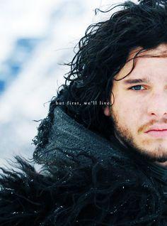 Jon Snow...North of the Wall