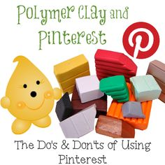 Polymer Clay and Pinterest: Do's & Don'ts for Proper Pinning Etiquette by KatersAcres
