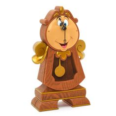 This wonderful pendulum clock boasts a design inspired by a favourite character from the Disney film, Beauty and the Beast. Beautifully finished in resin, our Cogsworth Clock will add a touch of enchantment to any interior.