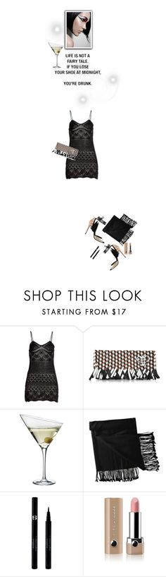 """Losing your shoe at midnight means only 1 thing ;)"" by juliehooper ❤ liked on Polyvore featuring Emilio Pucci, Eva Solo, New Directions, Love Quotes Scarves, Sisley and Marc Jacobs"
