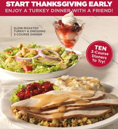 BOB EVANS $$ Coupon for BOGO FREE Dinner – SUNDAY ONLY (11/24)!