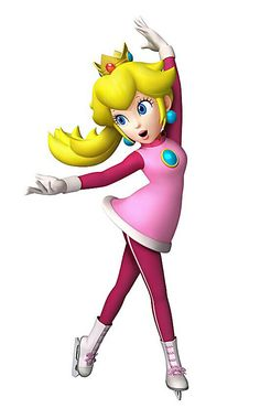 Peach - Characters  Art - Mario  Sonic at the Olympic Winter Games.jpg
