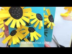 krokotak | VAN GOGH SUNFLOWERS CRAFT