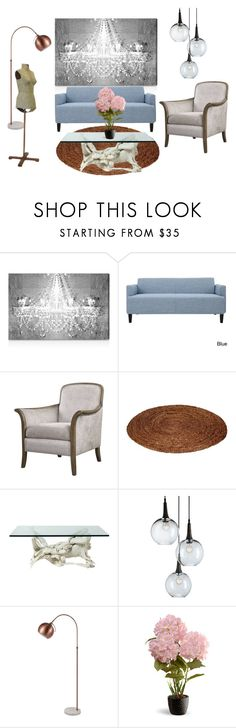 """""""Project 02"""" by bbinxies on Polyvore featuring interior, interiors, interior design, home, home decor, interior decorating, Oliver Gal Artist Co. and National Tree Company"""