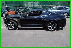 eBay: 2016 Ford Mustang EcoBoost Ecoboost PremiumTurbo Rebuildable Salvage Wrecked EZ Project Needs Fix Save Big #fordmustang #ford