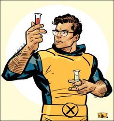Weird Science: Old School Beast by Evan Shaner [X-Men]