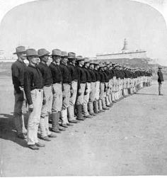 1st Infantry Puerto Rican Defense of American Army-1899  America takes posession of P.R. soley in order to enlist Puerto Ricans to fight in the war.