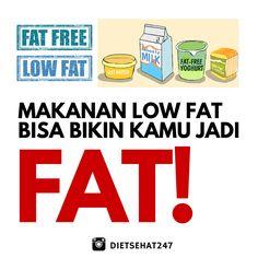 Ini alasan kenapa diet rendah lemak bisa bikin anda tambah gemuk http://bit.ly/dietrendahlemak