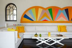 3. Hang a Statement Painting | 15 Easy DIY Ways To Add Color To A Room