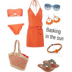 """""""Basking in the sun"""" by carolyn-co on Polyvore"""