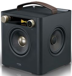 TDK Sound Cube. Never thought TDK can evolve to this. Noiiiicceeee.