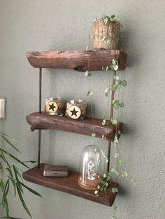 Concrete Wood, Floating Shelves, Home Decor, Wall Mounted Shelves, Interior Design, Wall Shelves, Home Interior Design, Home Decoration, Decoration Home