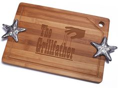 The Grillfather Bamboo Cutting Board