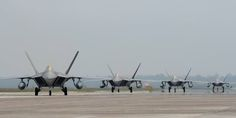 F-22's Reading For The Dance...