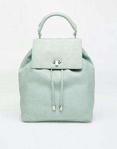 mochila de cuero - Asos